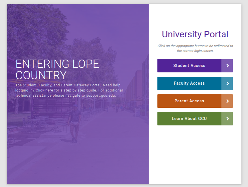 GCU Student Portal Login – Mygcu Grand Canyon student login & Sign In